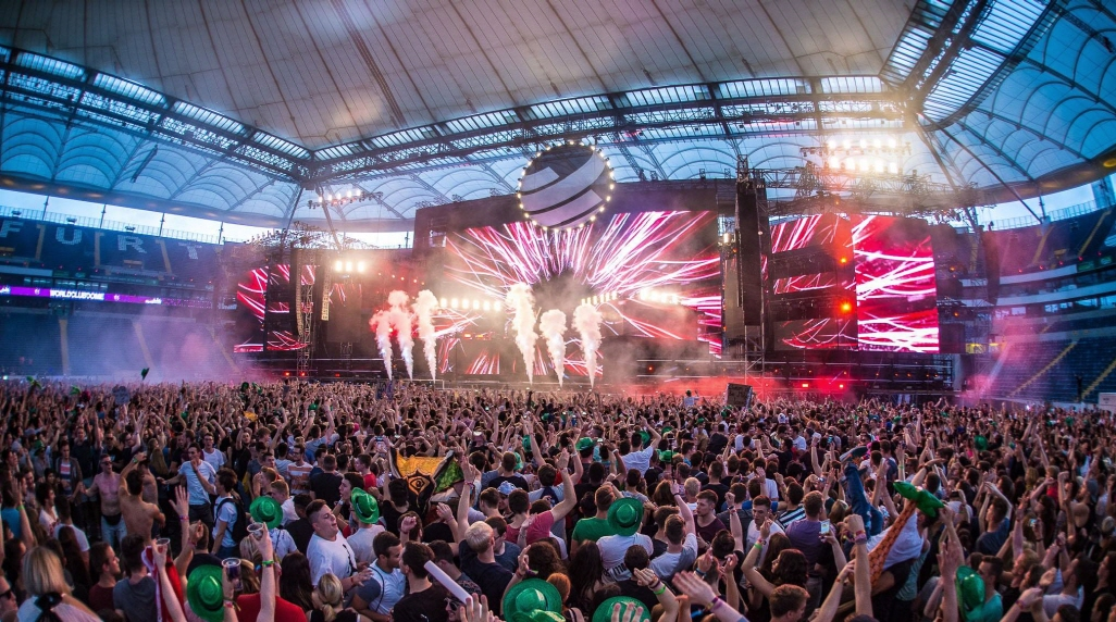WCD is an annual dance music event held in Frankfurt, Germany, hosted by the German radio station Big City Beats. (image: World Club Dome Korea)