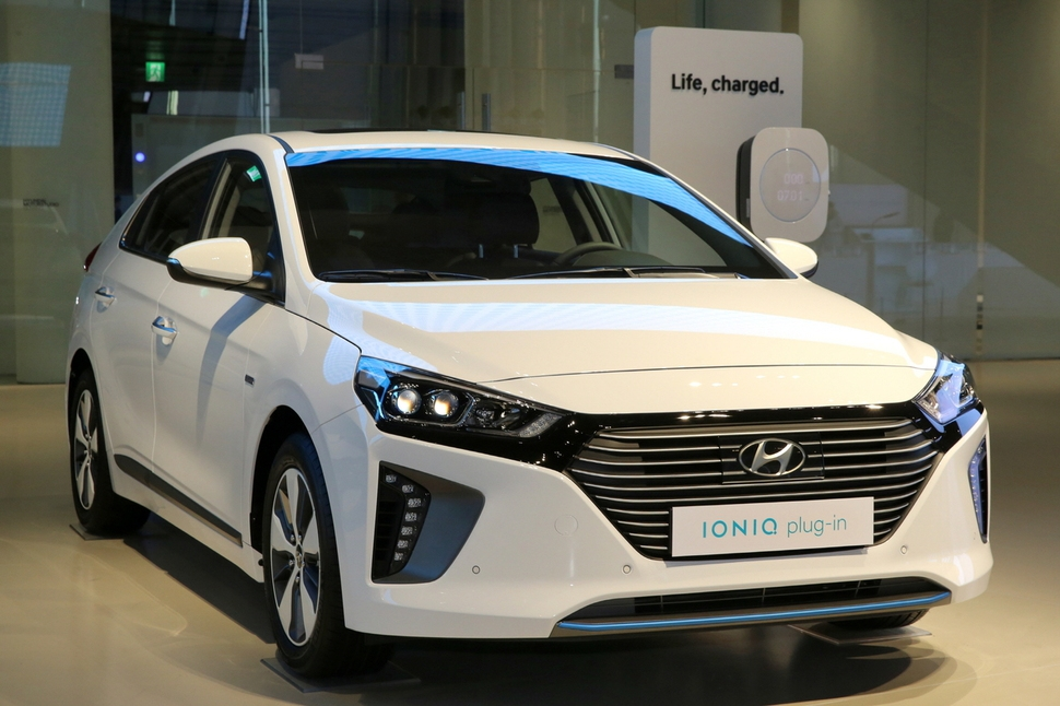 Hyundai Motor sold 37 units of its Ioniq plug-ins in April, the best monthly sales since the model's launch in February but still in the low double digits. (image: Hyundai Motor)