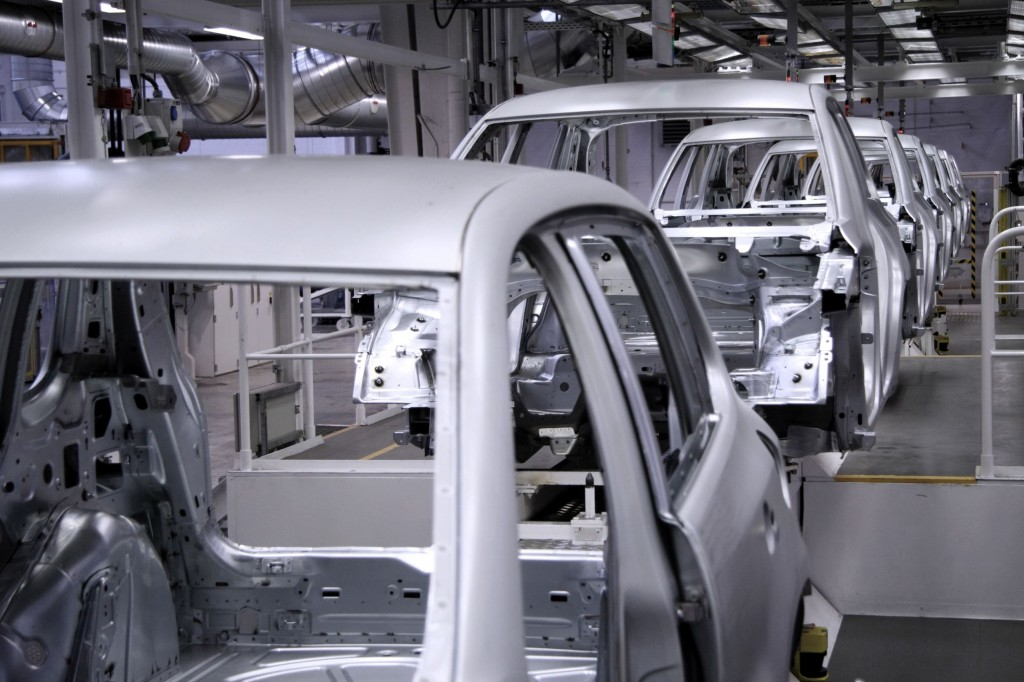 In 2014, China surpassed Korea's automotive market share for the first time at 5.6 percent, with South Korea lagging behind at 5.2 percent. (image: KobizMedia/ Korea Bizwire)