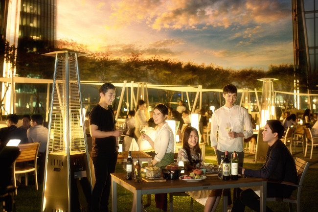 Pictured Above: the Conrad Seoul Hotel's VVertigo rooftop bar (Image: Conrad Seoul Hotel)