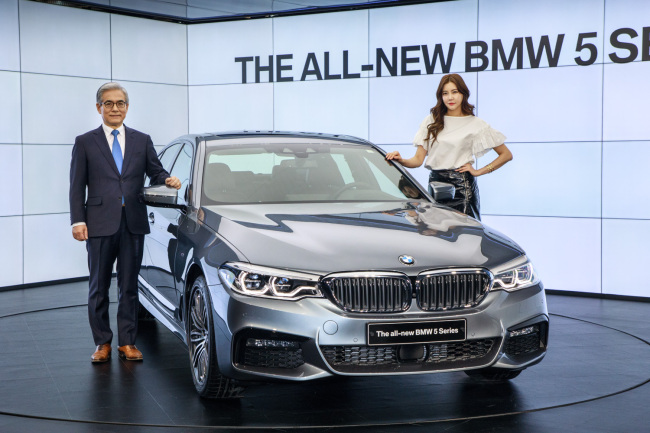 BMW Tops Mercedes-Benz in Sales for First Time in South Korea