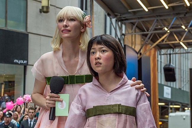 Okja has already received a significant deal of attention with its star-studded line-up including Jake Gyllenhaal, Tilda Swinton and director Bong Joon-ho, since Netflix announced a generous budget of 60 billion won ($50 million) that was pumped into the production. (Image: Yonhap)