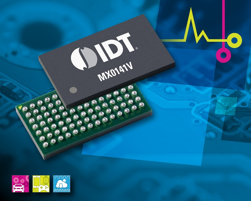 IDT Introduces Industry-First 1:4 Flash Memory Expander for High Density Solid State Drives