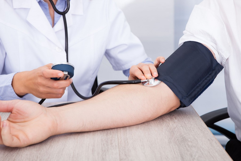 Hypertension is diagnosed when blood pressure is persistently at or above the maximum 140 and minimum 90 millimeters of mercury range. (image: KobizMedia/ Korea Bizwire)
