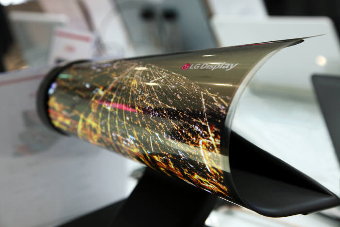 Rollable Display Patents on the Rise