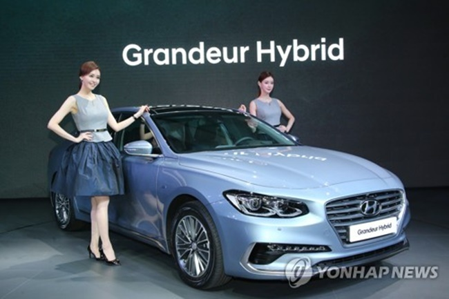 Data provided by carmakers showed sales of the Sonata, K5 and Malibu hit 2,268 units at the end of April, down a sharp 49.7 percent from a year earlier. (Image: Yonhap)