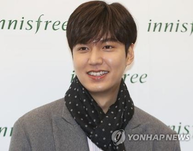 Actor Lee Min-ho Starts Military Duty in Gangnam Ward Office