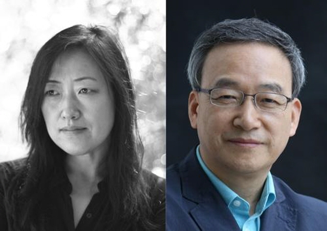 Kang Young-sook (L) and Jeong Ho-seung (R) (image: Literature Translation Inst. of Korea)