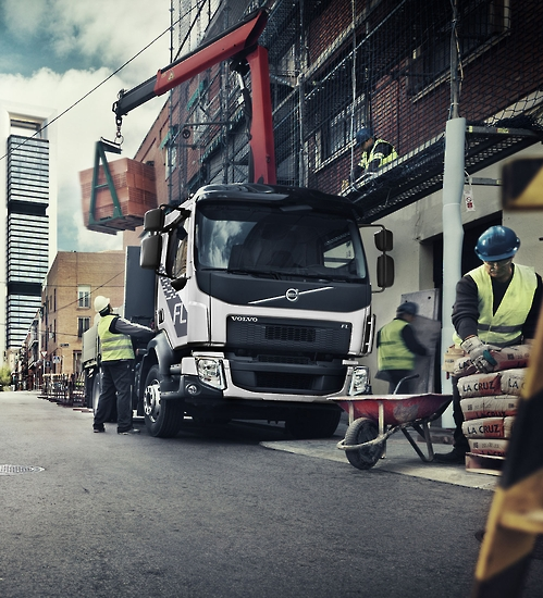 Currently, Volvo Trucks Korea tops the local market for imported trucks, with sales of other players like Scania, Benz and MAN growing fast. (image: Yonhap)