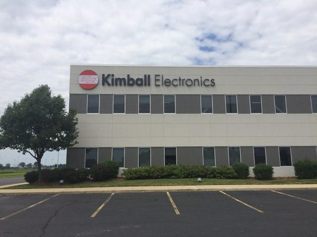 Kimball Electronics Receives Award from Siemens Healthineers