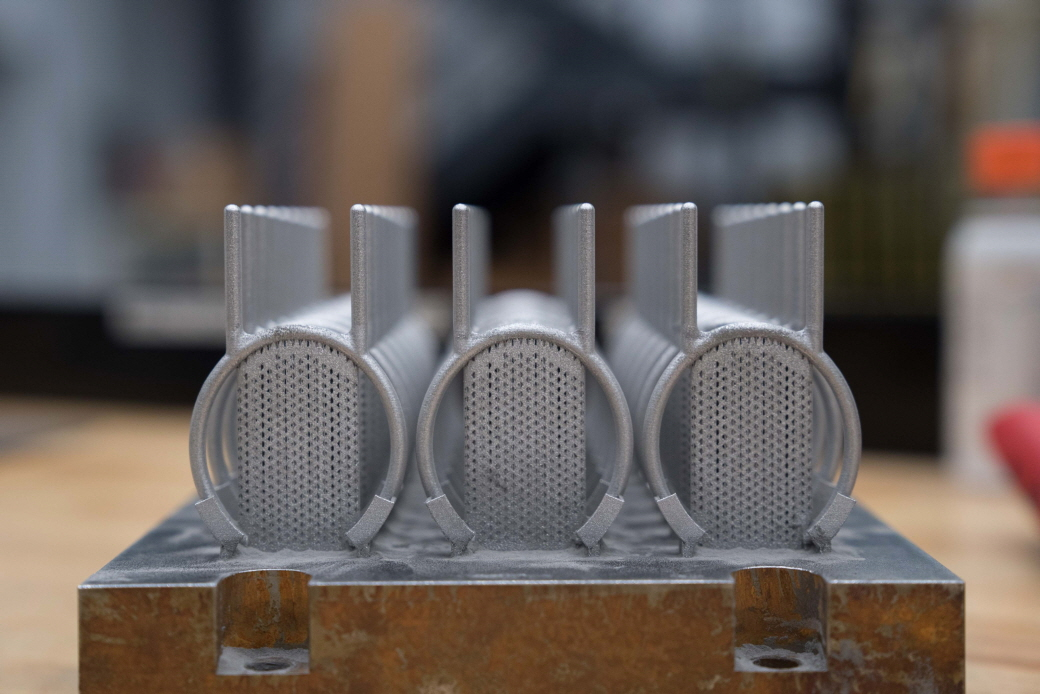 3D Systems' direct metal printing solutions enable customers to print high-quality, complex metal parts more efficiently and at a lower total cost of operation. (image: 3D Systems)