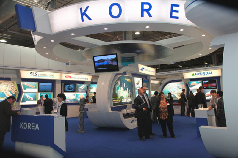 The three major South Korean shipbuilding companies have previously attended the maritime trade fair, which has been held every year since 1965 in Norway, an event where industry leaders showcase the latest technology and develop business networks.(Image: Yonhap)