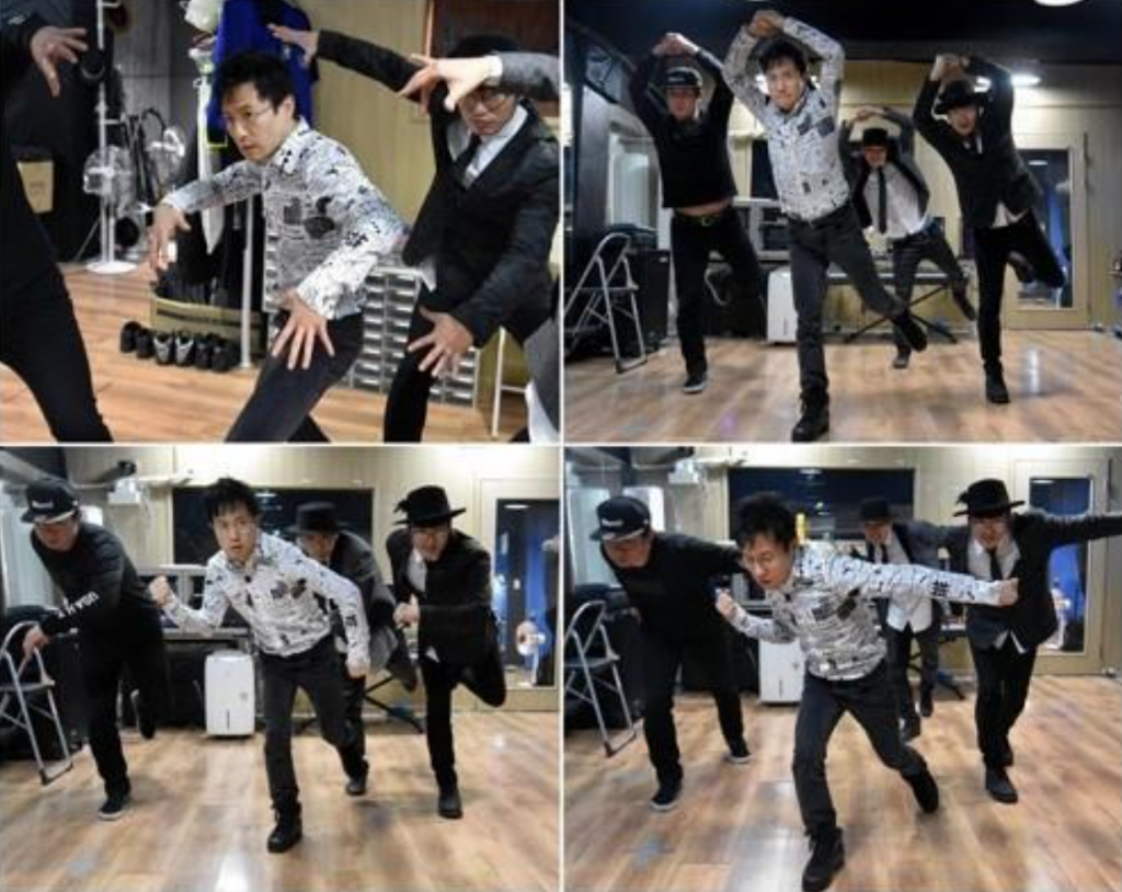 Singer Park Nam-jung rehearsing in a studio, as he prepares his comeback after 13 years. (image: Yonhap)