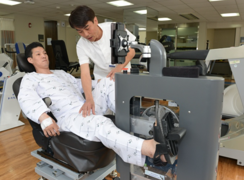 Doctor and Patient Develop Rehab Bicycle for Sufferers of Cardiopulmonary Diseases