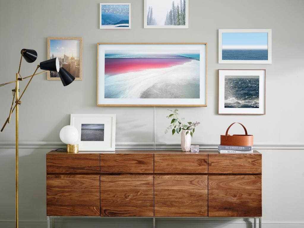 "Samsung's ""Frame,"" a television/picture-frame hybrid. (image: Samsung)"