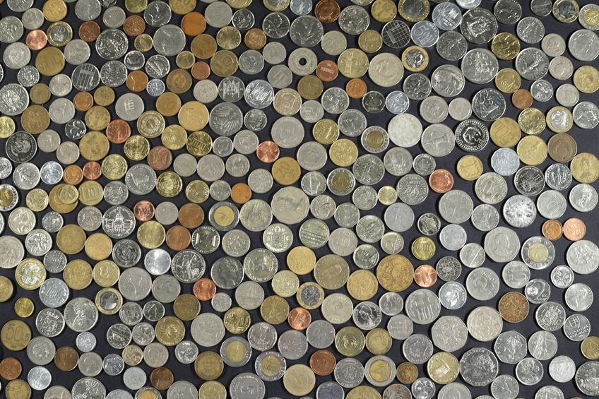 Nearly 5,800 coins from foreign countries collected since September 2012 will be used to help children in need, the local government announced on Monday. (Image :Kobiz Media)
