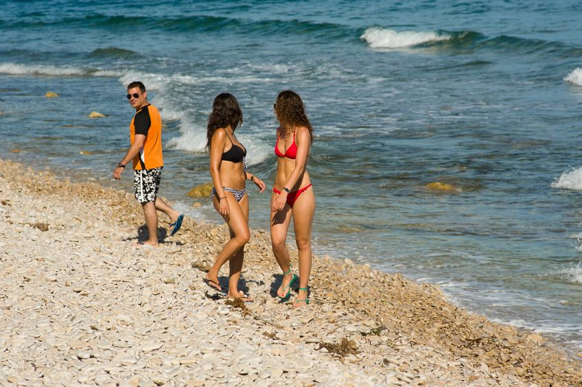 As the summer is approaching rapidly, the risk of voyeurism is on the rise, particularly at beaches and  swimming pools. (Image: Kobiz Media)