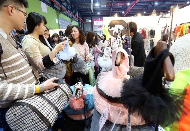 The increasing demand for pet-related industry is prompting many local governments to enter the fray. (Image: Yonhap)