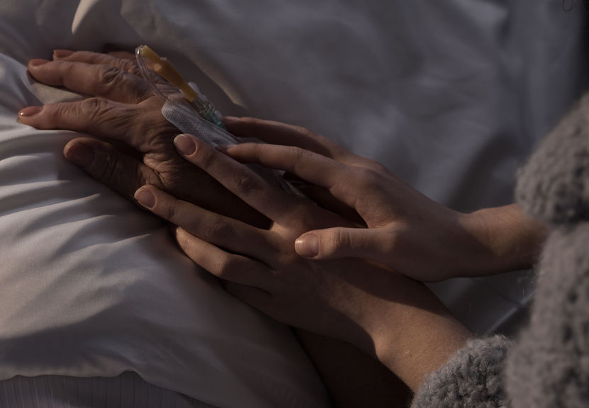 Hospice care, which refers to a type of care that focuses on the palliation of chronically-ill patients' pain and symptoms while providing them with psychological, social and religious comfort, has been drawing public attention amid growing interest in the concept of 'dying well' among South Koreans in the light of an aging populace. (Image: Kobiz Media)
