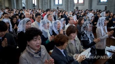 S. Korea's Catholic Population Estimated at 5.6 Million in 2015