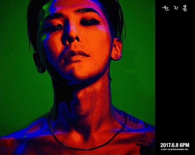Upon release last week, G-Dragon's new solo album has conquered Apple's iTunes album charts in 39 countries around the world. (Image: Yonhap)