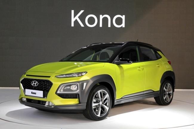 Hyundai's Kona SUV (Image: Hyundai Motor Co.)