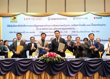Daewoo Engineering Teams Up With Petroleum Trading Lao Public Company