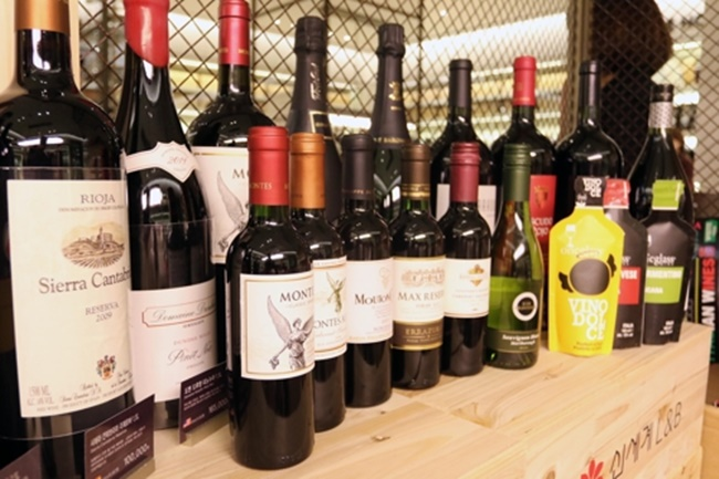 Wine is becoming an increasingly popular beverage of choice, particularly among South Korean women in their 20s, a new report says. (Image: Shinsaegae Department Store)