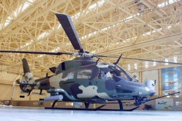 KAI Begins Assembly of Prototype Light Armed Helicopter