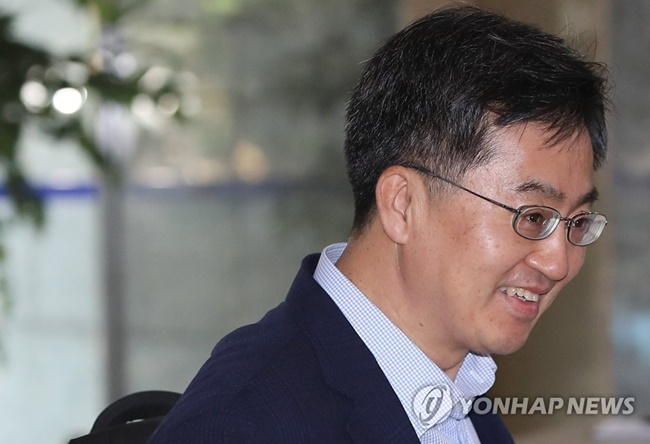 President Moon Jae-in's nominee for Deputy Prime Minister and Minister for Strategy and Finance, Kim Dong-yeon, has indicated his intent to deliver on the tax reform proposal. (Image: Yonhap)