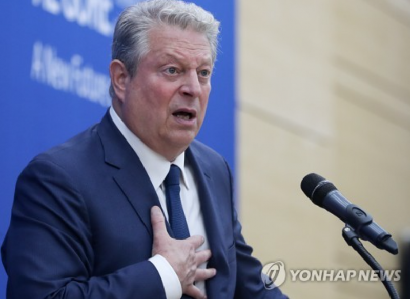 Al Gore Says Climate Change Was Behind Global Riots and Refugee Crisis