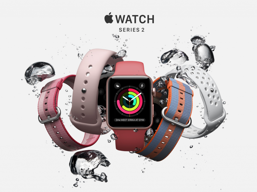 Apple was the winner of the agency's study, with the 42mm Apple Watch 2 coming in at 0.085W/kg of SAR. (image: Apple website)