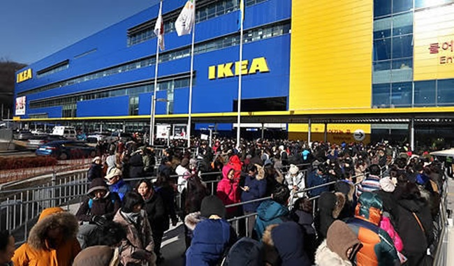 Curently, IKEA Korea has signed a memorandum of understanding with government officials from Busan Metropolitan City, Giheung District in Yongin and Gangdong District in Seoul with plans to purchase land for newly proposed stores. (Image: Yonhap)