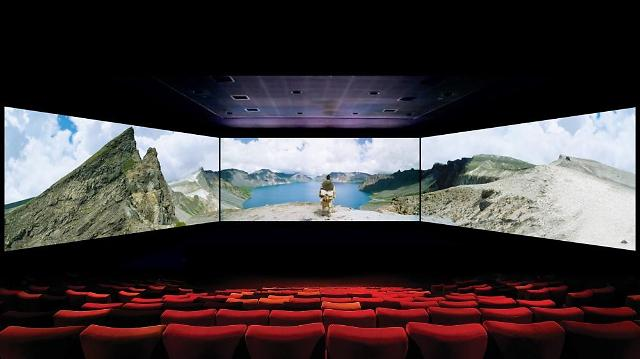 ScreenX offers a 270-degree movie experience via multi-projection. (image: CJ CGV)