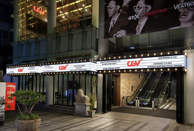 CJ CGV's multiplex outlet in Sinchon, Seoul. (image: CJ CGV)