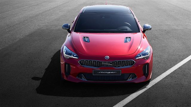 Kia Stinger Sports Car Receives Strong Response in S. Korea