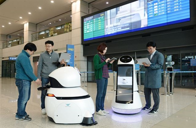 Incheon Airport to Introduce Helper Robots Next Month