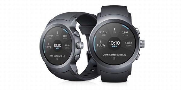 LG Watch Sport. (image: LG)
