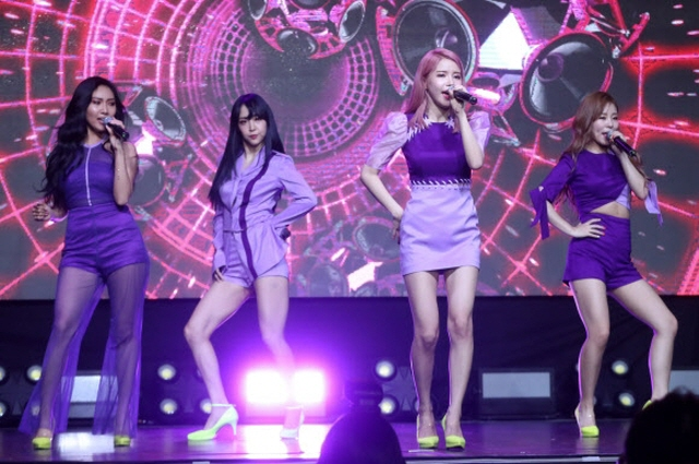 Mamamoo Gears up for This Summer's Chart Battle with 'Purple'