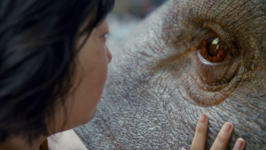"Co-written by Bong and Jon Ronson of ""Frank,"" Okja tells the story of a young girl who risks everything to prevent a multinational company from kidnapping her best friend -- a massive animal named Okja."