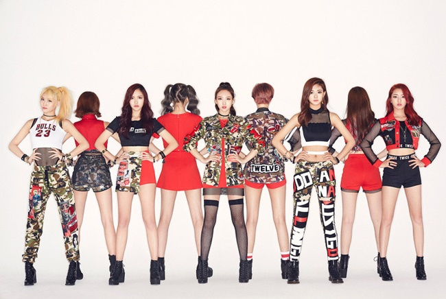 """#TWICE,"" released on Thursday in Japan, has sold 46,871 copies, coming in at second place on Oricon's daily album sales chart after Japanese idol group Kanjani8, JYP Entertainment said.(Image: JYP Entertainment)"