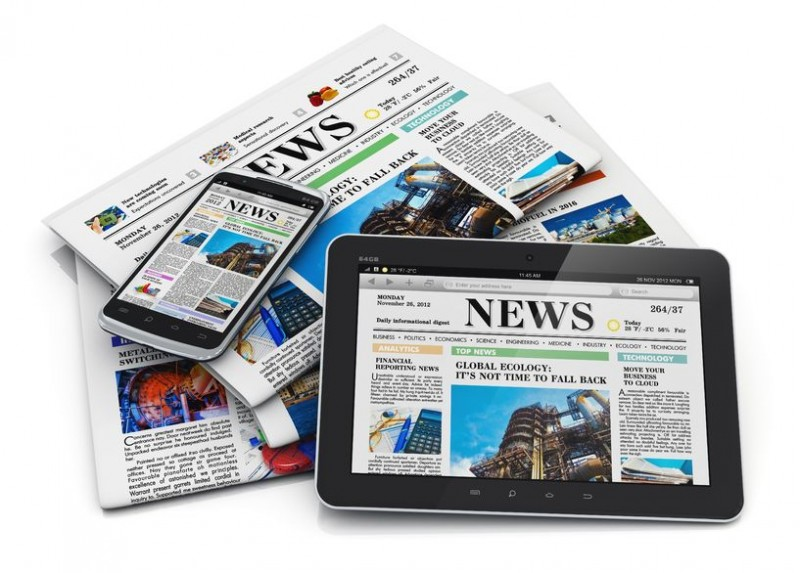 Heavy Internet Users Read More Physical Print Newspapers and Books