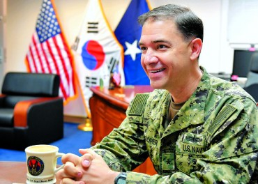 U.S. Naval Commander to Get Korean Name