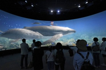 Ulsan Opens Whale-Themed 3D Movie Theater