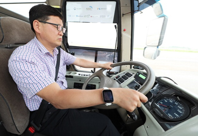 1 in 10 Bus Drivers Suffer Daytime Sleepiness in South Korea