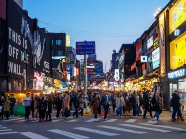 Big Data Analysis Shows Business Booming Around Hongdae Station