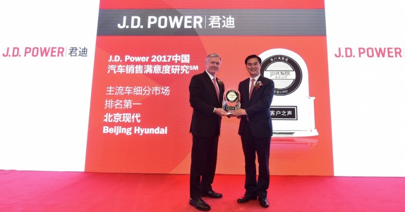 Hyundai Tops JD Power Satisfaction Rankings in China This Year