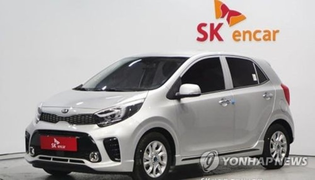Pre-owned car sales data offered by SKencarsales.com back up the trend. It said SK encar.com, a certified Korean used car seller here, reported a 26 percent on-year increase in sales in the January-June period from 5,644 units to 7,107 vehicles in 2017, a SKencarsales.com spokesman said. (Image: Yonhap)