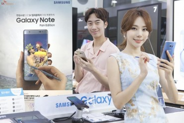 Samsung Launches Refurbished Galaxy Note 7