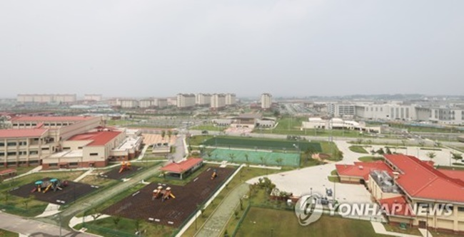 A view of Camp Humphreys, an expanded U.S. Forces Korea base in Pyeongtaek, Gyeonggi Province. (Image: Yonhap)